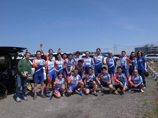 チーム居残り練習 短時間高強度130km
