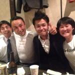 武井選手、與那嶺選手とチーム練させていただきました