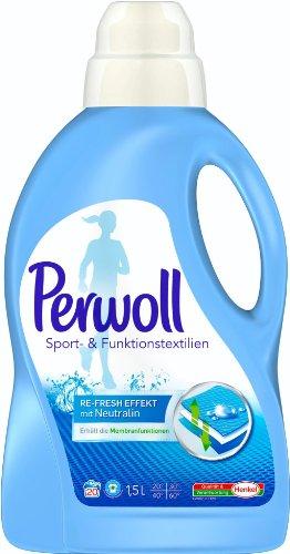 パーウル スポーツ専用洗剤 高級ウェアの性能を落とさず洗っていますか?