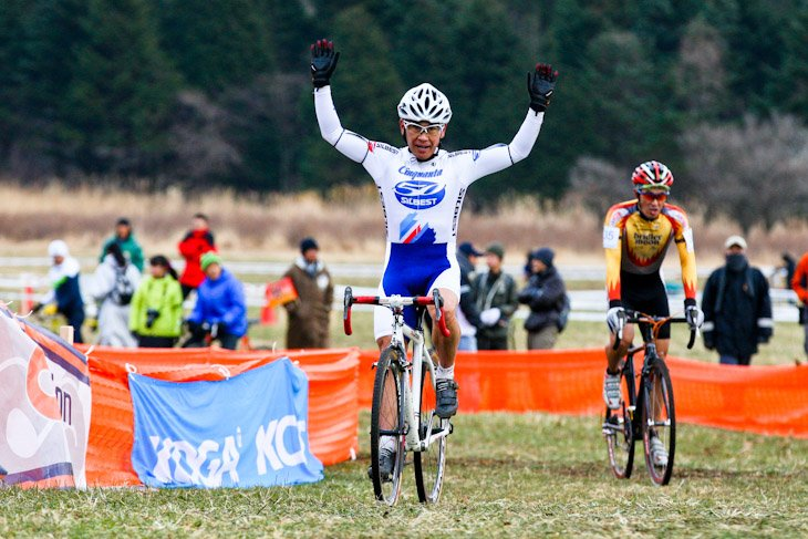 シクロクロス全日本選手権2012 Category M50