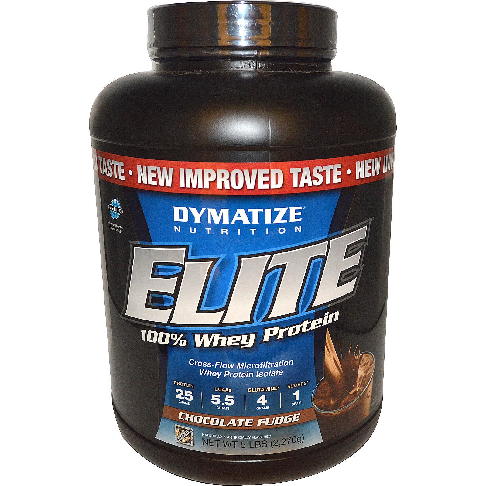プロテイン考察 Dymatize Nutrition, Elite, 100% Whey Protein