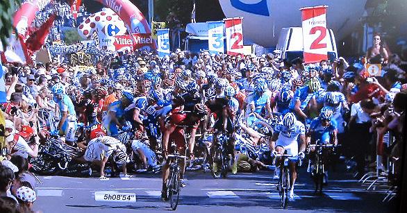 ツール・ド・フランス 第1ステージ ロッテルダム~ブリュッセル