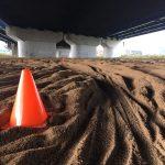 新トレイルからの砂地獄