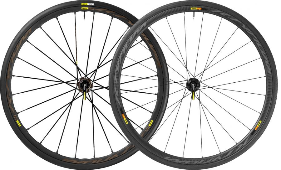 Mavic Ksyrium Pro Allroad and Pro Carbon wheels