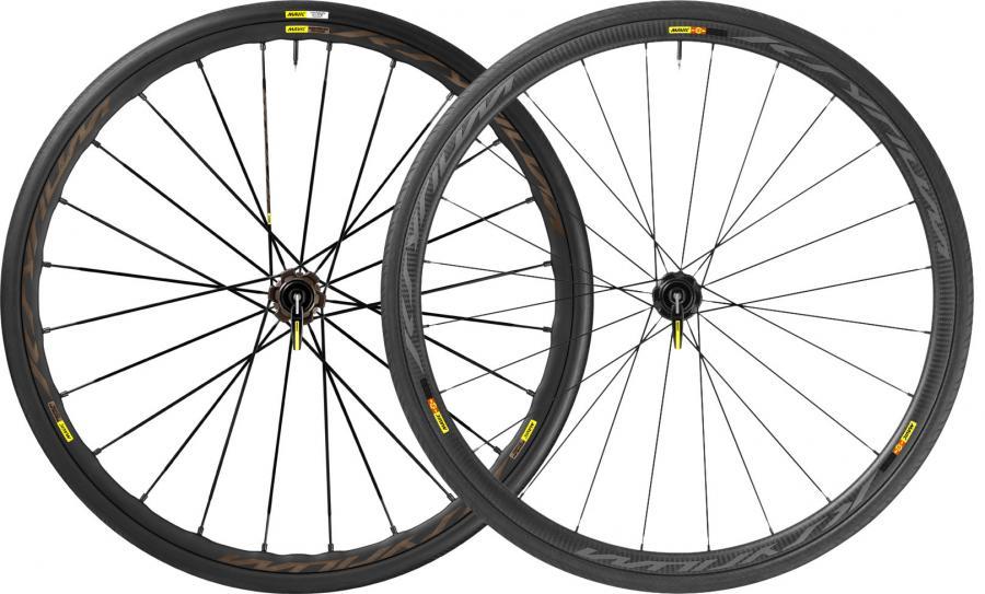 Mavic Ksyrium Pro Allroad and Pro Carbon wheels