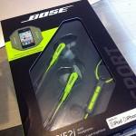 【機材】ローラーに適したイヤホン Bose SIE2i スポーツヘッドフォン