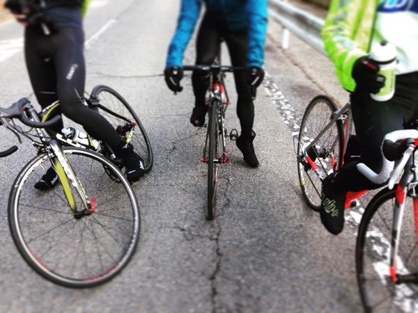 山や自転車仲間はやっぱり良い。