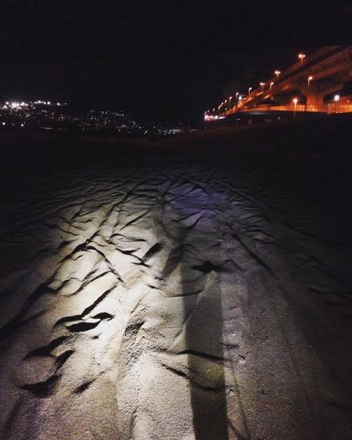 東京シクロクロスって砂ランニングなの、、、?