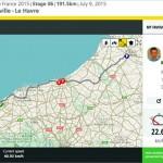 ツール・ド・フランス全選手を追跡 ライブトラッキングを使ってみた