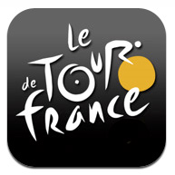 i Phone アプリ Official Tour de France