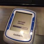 Garmin Edge 500のMemory is fullの原因と修理方法