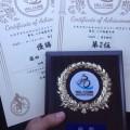 ヒルクライムシリーズ 養父ハチ高原 年代別優勝・総合2位