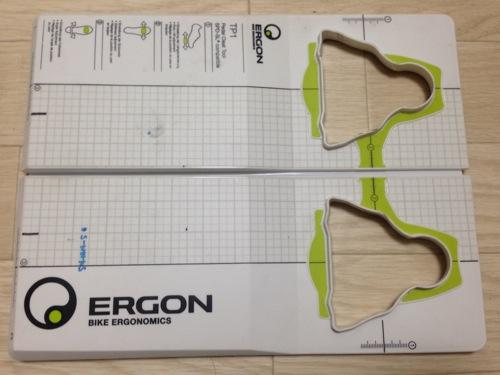 ERGON TP-1 簡単にクリート位置を記録できるアイデアツール