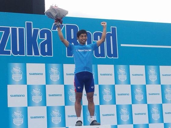シマノ鈴鹿 5ステージ1日目 総合二位