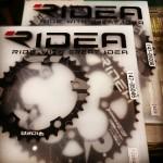 RIDEAはDUAL-OVALという二重楕円チェーンリングだ